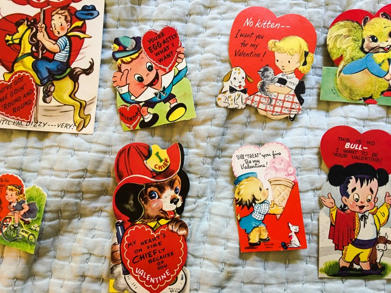 Vintage Valentines from Wisconsin