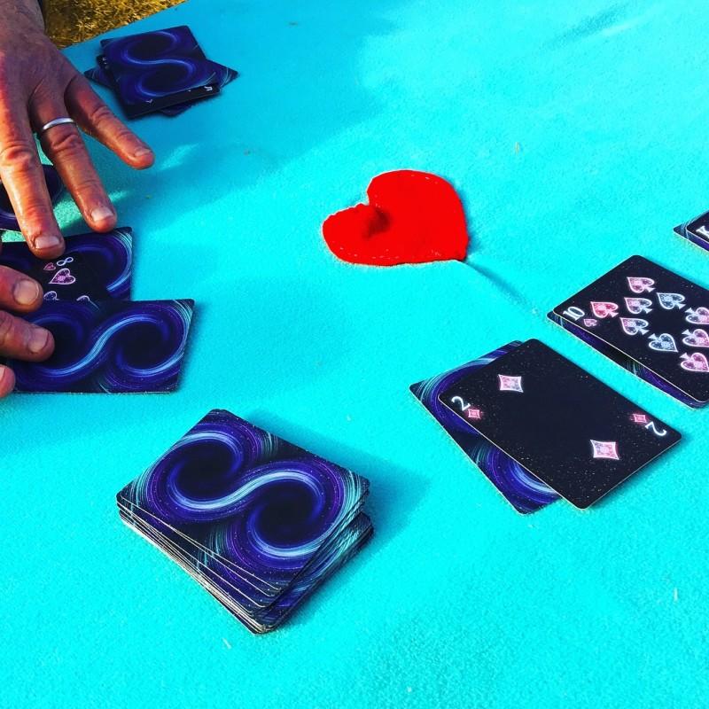 Cards Playing Camping Glamping Oregon Coast Nehalem