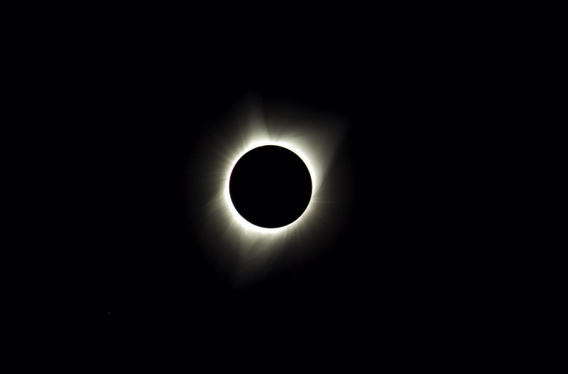 Eclipse in Oregon
