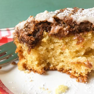 New York Style Cinnamon Crumb Coffee Cake