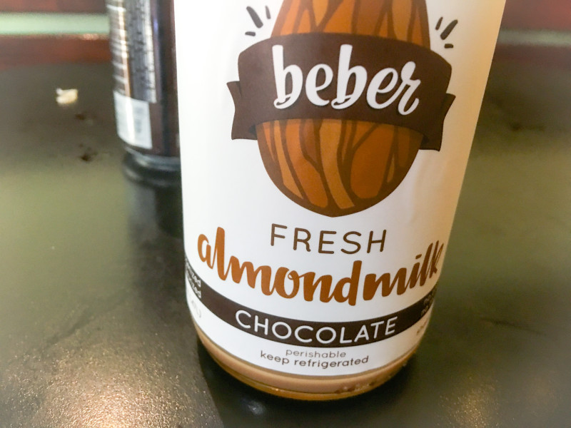 Fresh Almond Milk, Beber, Clement Farmers Market, SF