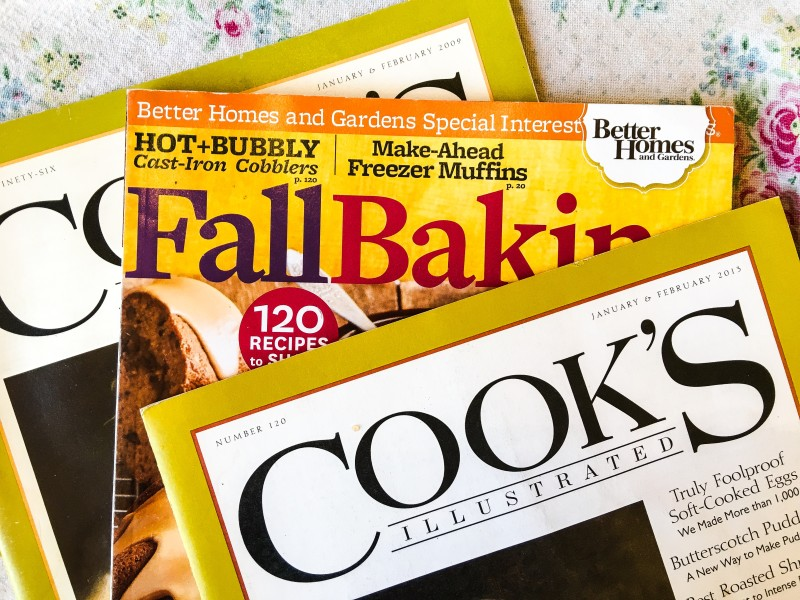 fall baking magazines