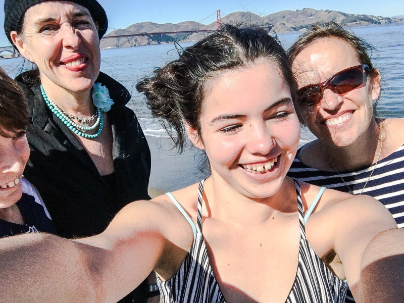 Crissy Field with Gal Pals