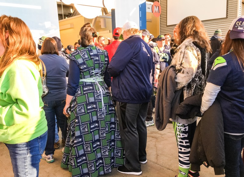 Century Link Seattle Seahawks Game