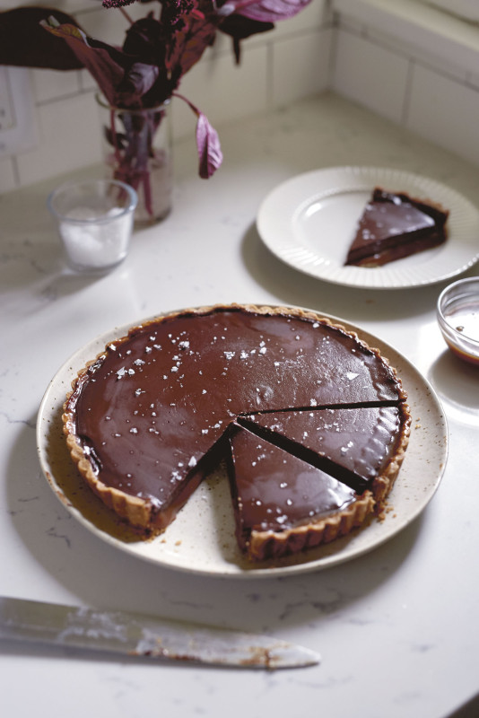 Chocolate Caramel Tart from Plaza Del Toro
