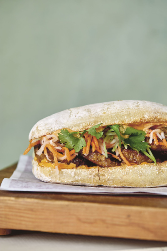 Pork Meatball Banh Mi from Lardo