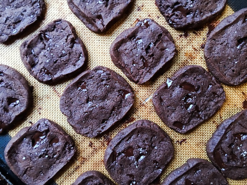 bittersweet chocolate sable shortbread dorie greenspan smitten kitchen