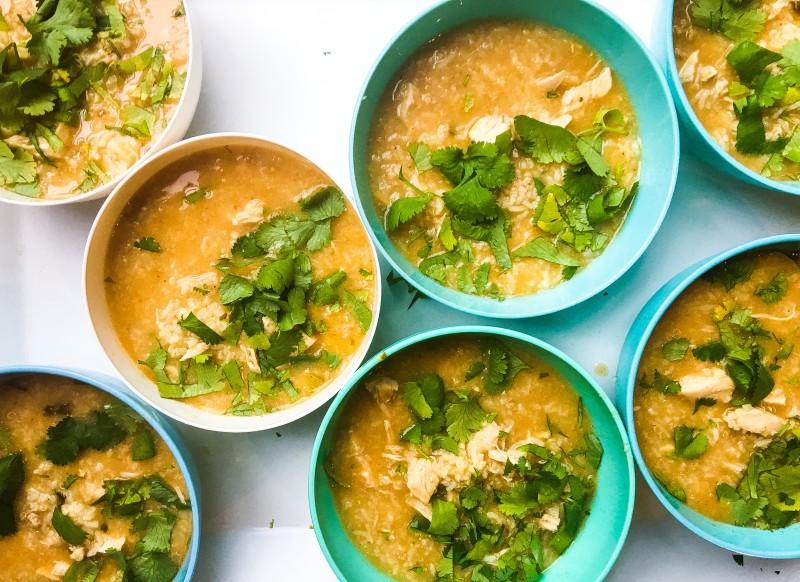 Thai Chicken Soup for Teachers