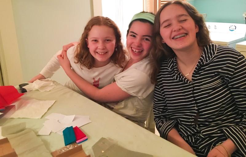 girls weekend doing crafty Portland