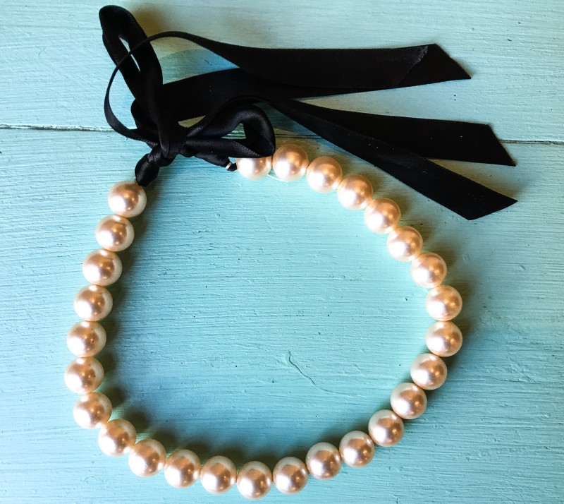 Pearl Necklace Goodwill BIns