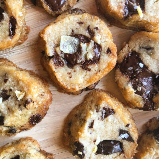 Salted Chocolate Chunk Shortbread Cookies NYT