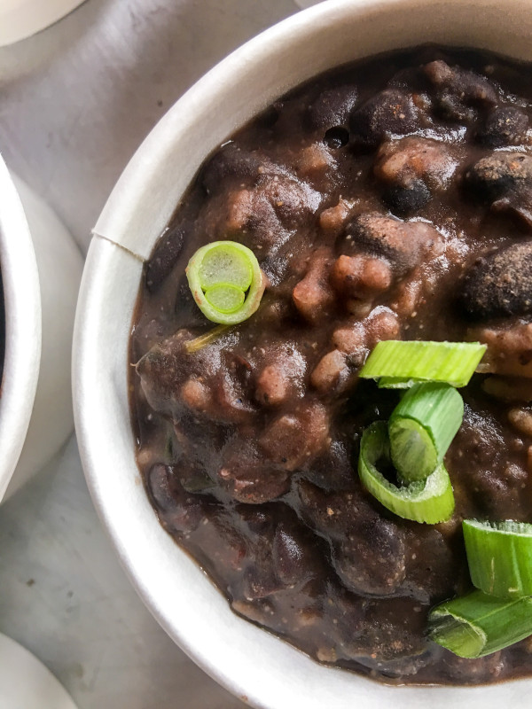 Black Bean Soup, Cooking for a crowd