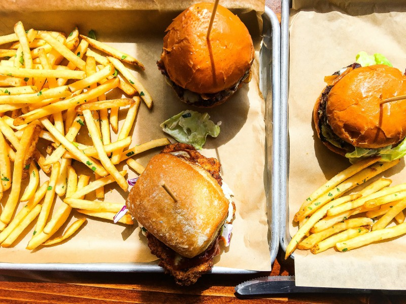 PDX SLiders Portland Burgers