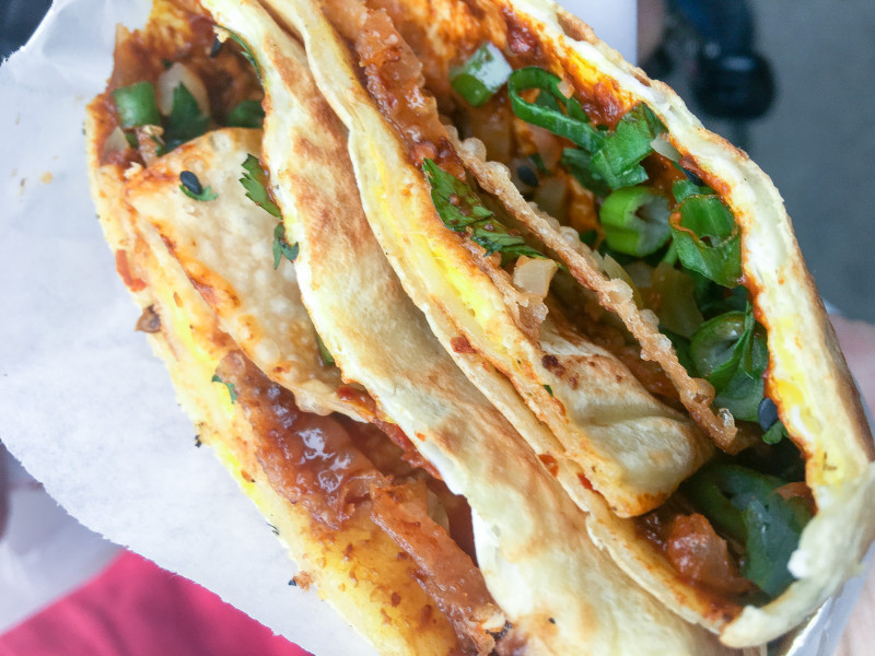 Bing Food Cart Jianbiang Crepe Portland