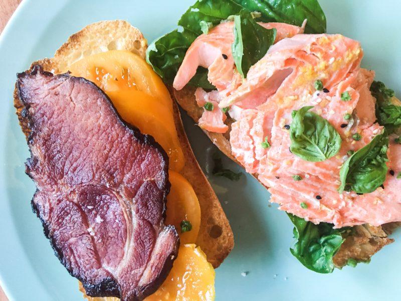 Salmon Steelhead BLT