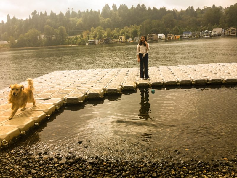 Best of Summer Portland Blowout - Charlotte and Porter Sandy River