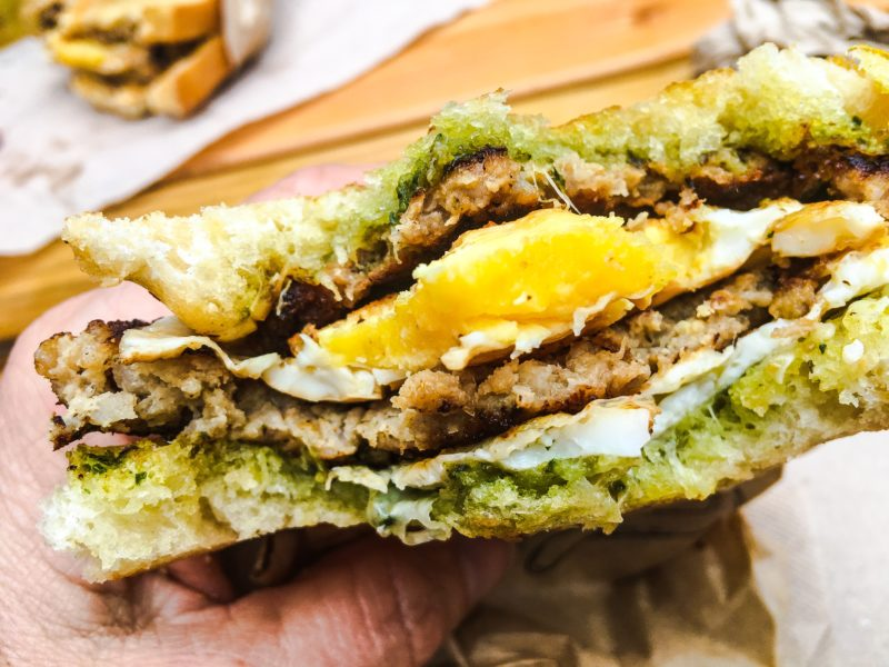 Best of Summer Portland Blowout - Fried Egg I'm In Love Sandwhich