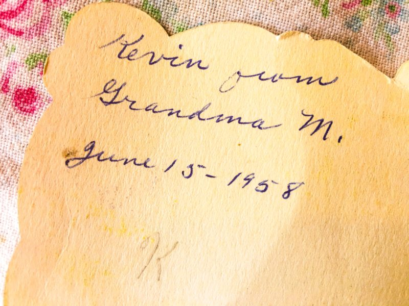 Vintage Card OUtlet Bins Portland Goodwill