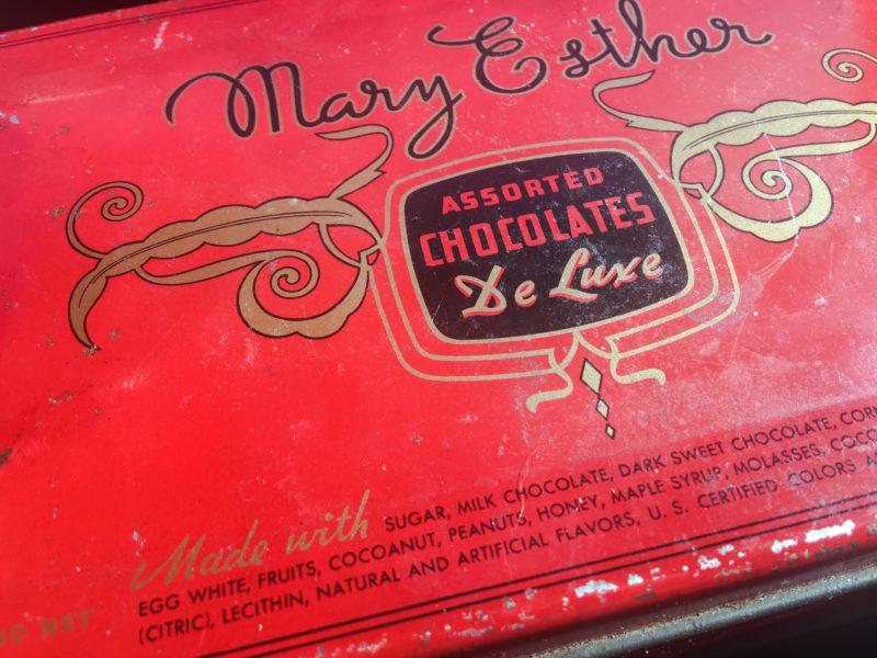 Vintage Cookie Chocolate Box