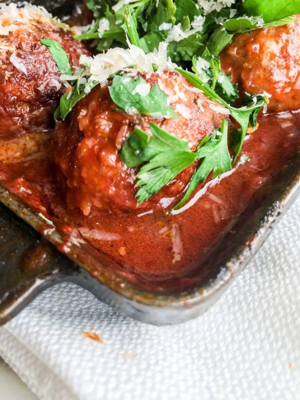 Gjelina meatballs restaurant Venice Beach