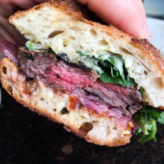 Gjelina Restaurant sandwich