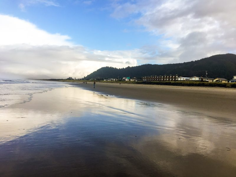 Beach Weekend Oregon Coast Rockaway