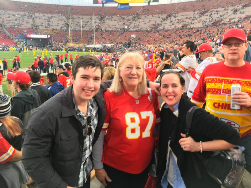 Chiefs Game Kelce Mom