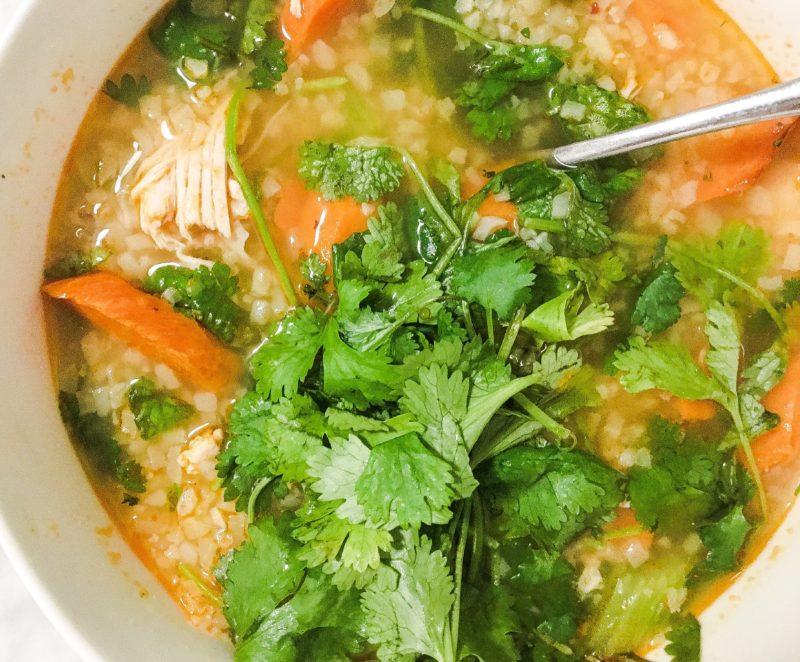 Thai Chicken Soup Detox