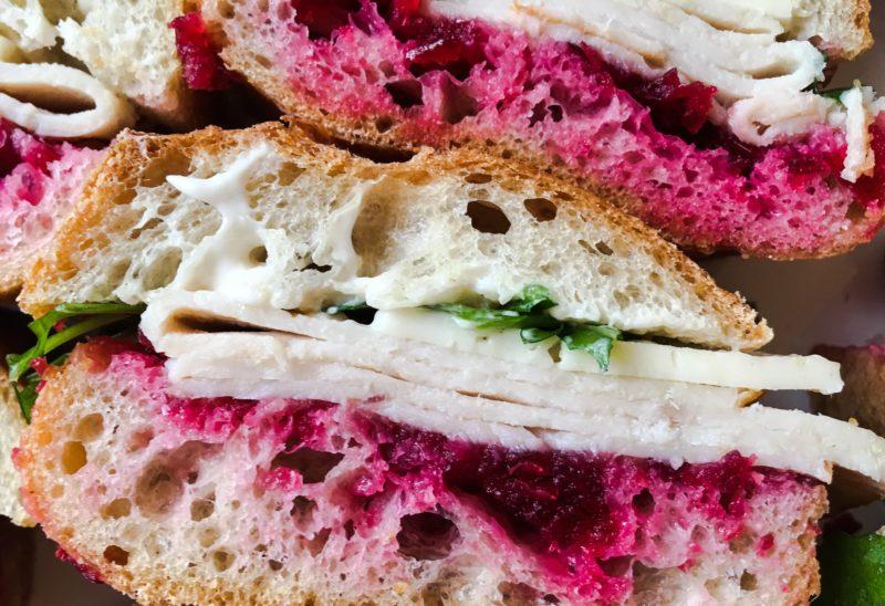 Turkey Cranberry Sandwiches