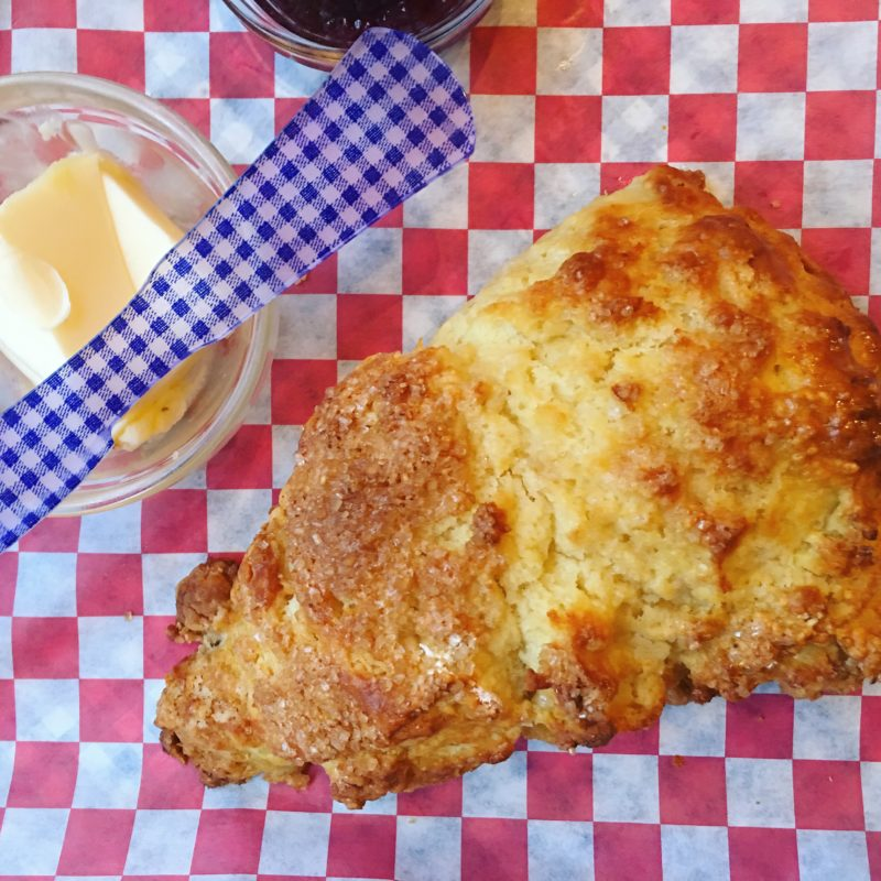 Buttermilk Biscuit with Jam