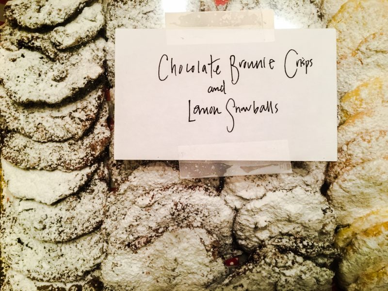 Christmas Cookies Giveaway Donate