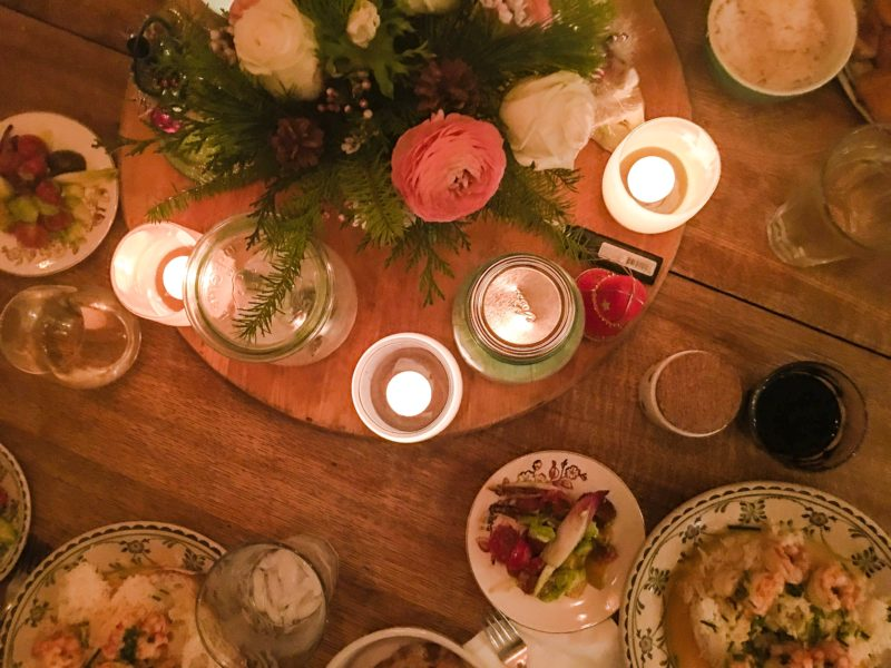 Holiday Table Christmas