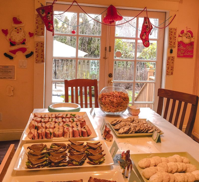 Christmas Eve Party Buffet