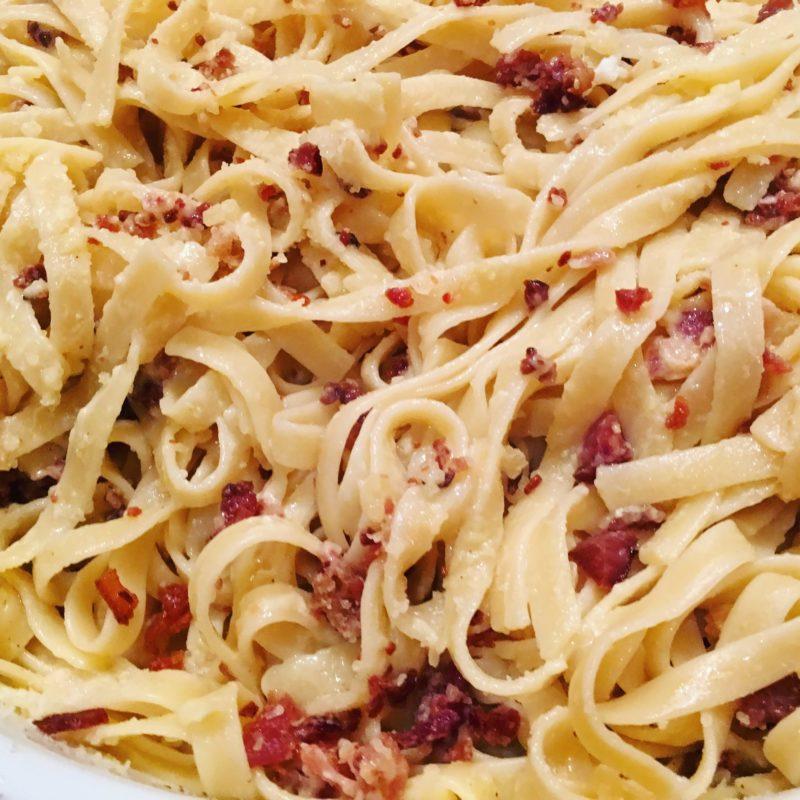 Carbonara Pasta Host Con Team