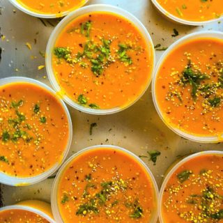 Detox Carrot Ginger Turmeric Soup