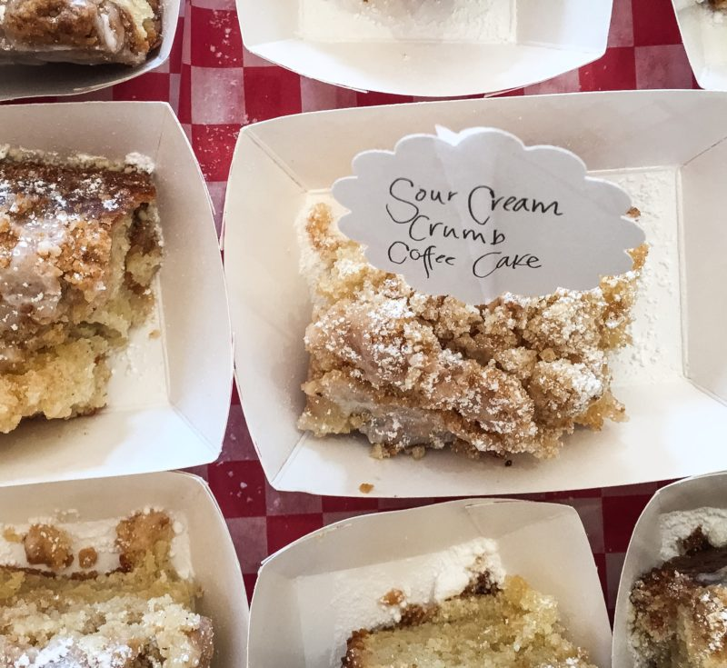 Silver Palate Sour Cream Coffee Crumb Cake
