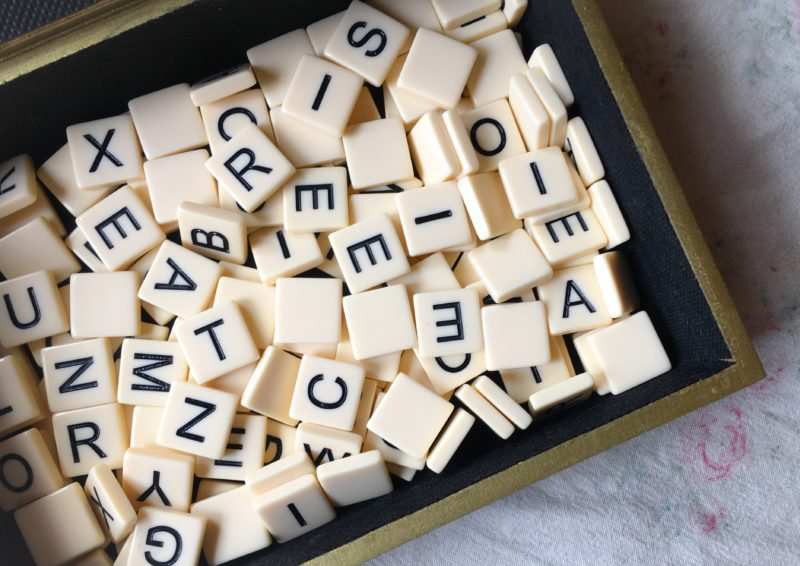 Portland PDX Goodwill Outlet Bins find box for Bananagrams