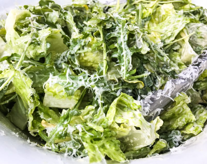 arugula salad with anchovy
