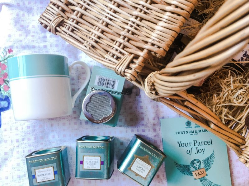 Fortnum & Mason tea assortment