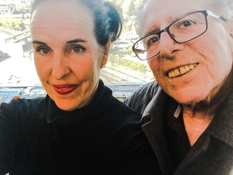 David and I chemo