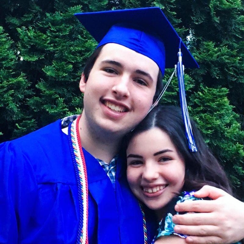 Charlotte and Oliver Graduation
