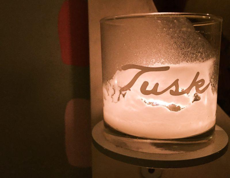 tusk candle bathroom
