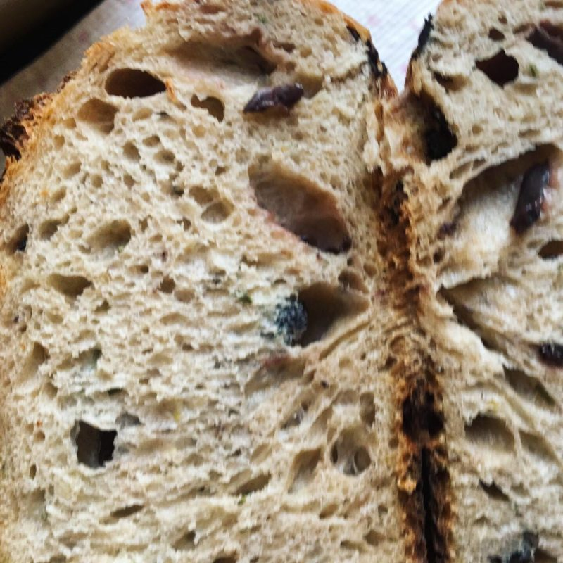 Ivy olive bread