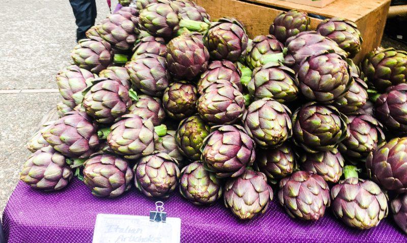 artichokes farmers market