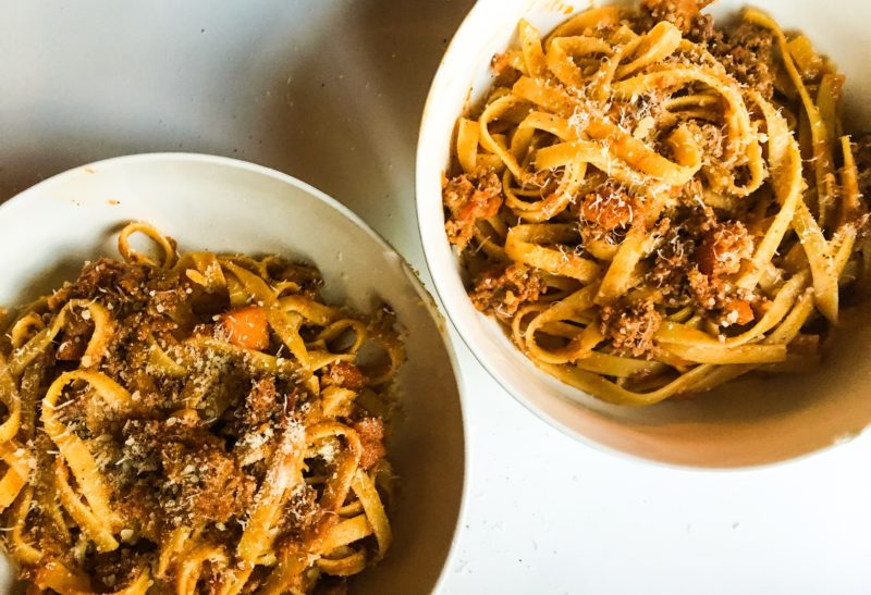 Homemade Bolognese