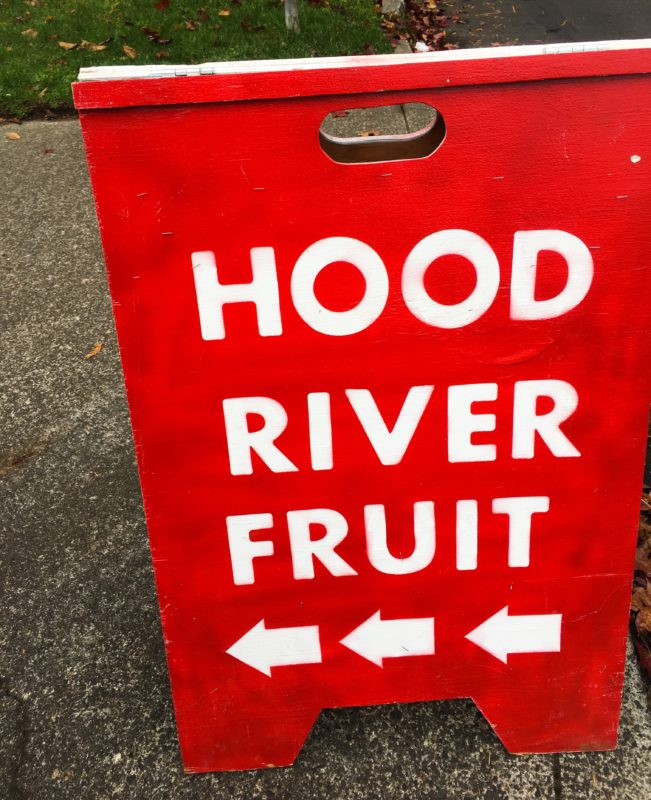 Hood River Fruit Stand