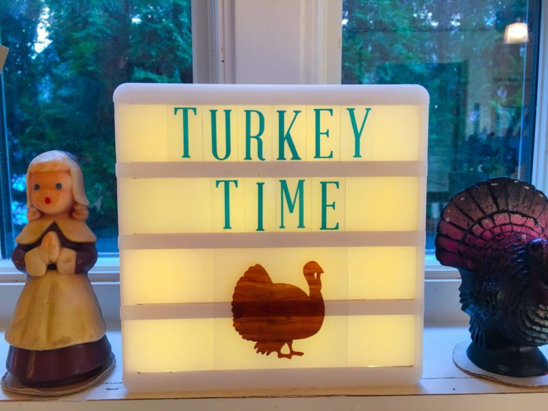 Turkey Time Sign