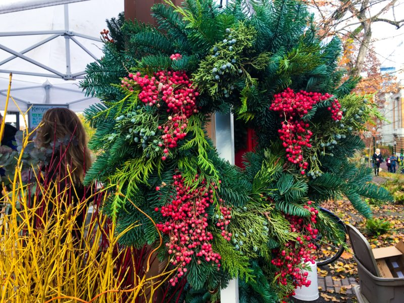 farmers market wreath