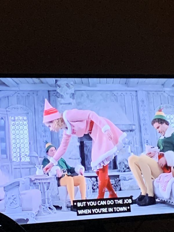 Elf Holiday movie