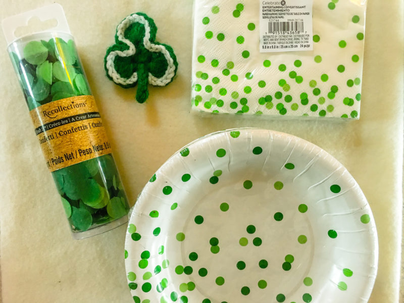 Vintage St. Patricks Day Finds Goodwill Outlet Bins